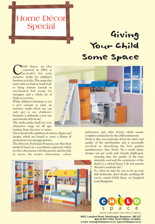 kids bedroom furniture india